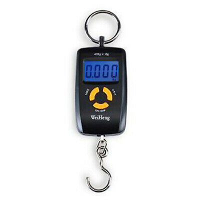 Black Portable 45kgs Luggage Scale,Digital Electronic Pocket Fishing Weight