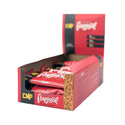 CNP Professional Pro Flapjack Bars 24x75g Cherry Almond High Rolled Protein Bar