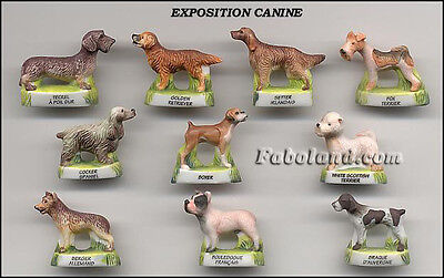 Fèves CHIENS EXPOSITION CANINE     AN534