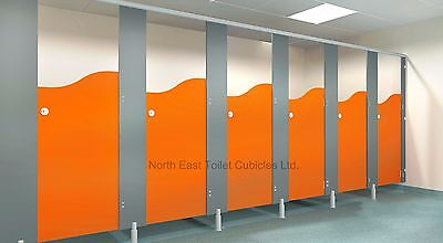 Toilet Cubicles & Fittings - 3 Corner Cubicles