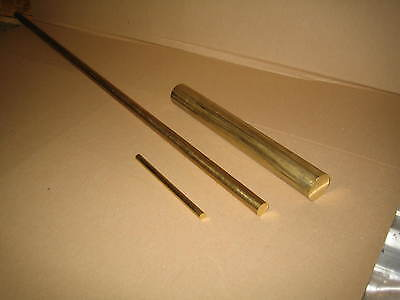 "Brass Round Bar 1 1/2"" Dia/40Mm Dia X 50Mm Long Cz121"