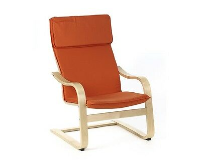 Relaxsessel, Schwingsessel, Sessel, Swinger Orange