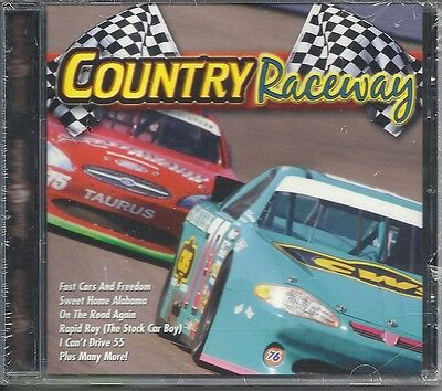 NASCAR COUNTRY RACEWAY RACETRACK TAILGATE FAN MUSIC CD