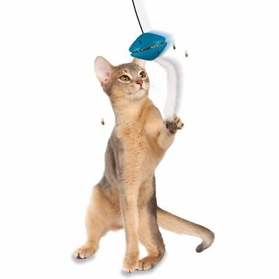 CAT TREAT DISPENSING ACTIVITY BALL (Great Value Fun)