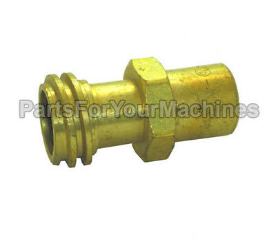 Male Coupler For Lpg Cylinders, Rego 7141M, Propane Buffers, Forklifts & More