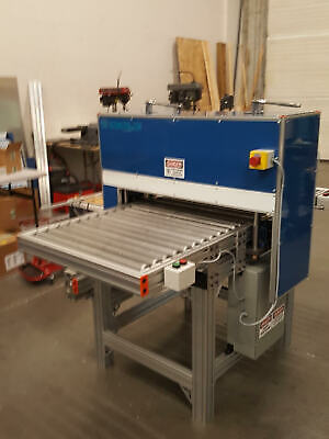 """Sibe Automation Roller Die Cutter 27""""  Vacuum Forming Blister Gasket Leather New"""