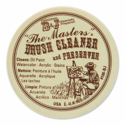 Masters Brush Cleaner / Preserver - 75ml - (2.5 oz) For Oil & Acrylic Paint