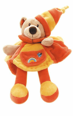 soft toy BEAR doudou ~security ~comforter blanket ~ NEW