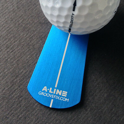 A-Line Ball Marker Putting Aid (Arrow Shape) – Improve Your 1 Putt %