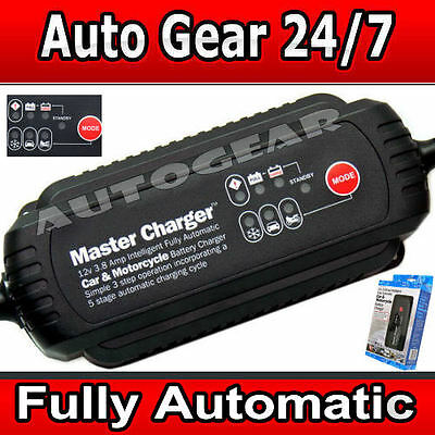 2018 Automatic Smart Leisure Car Bike Motorcycle 12v 3.8a Battery Charger SWIBC5
