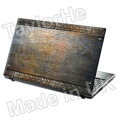 """17"""" Laptop Skin Cover Sticker Decal Metal Plate 269"""
