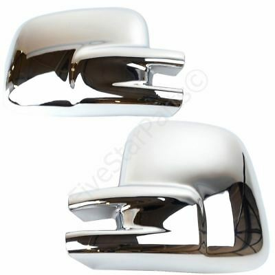 VW Transporter T4 91-03 Chrome Mirror Glass Covers RHD
