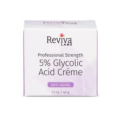 Reviva Labs - 5 Percent Glycolic Acid Extract Cream - 1.5 Ounce /42 Grams