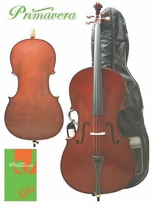 Primavera Prima 90 Student Cello Outfit 4/4 **NEW**