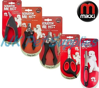 Mikki Nail Claw Clippers – small large cat dog bird pet