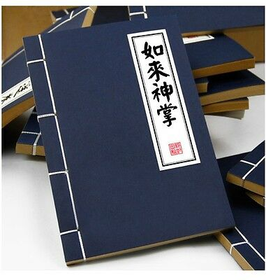 Buddha Palm Technique Chinese Kungfu Note Book New