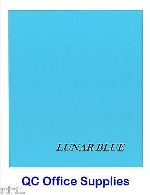50 Sheets - Astrobright Cardstock - 65# Lunar Blue