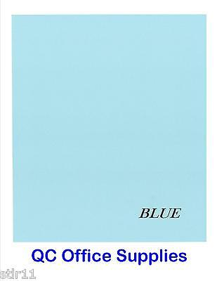 50 Sheets - Blue Lightweight Cardstock - 67#  8.5 x 11