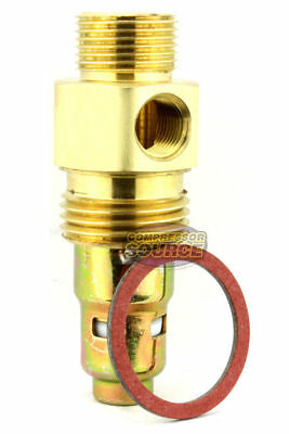 "7/8"" x 1/2"" Check Valve For A Campbell Hausfeld Air Compressor Brass New"