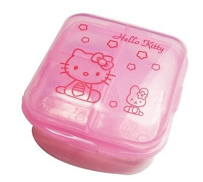 2tiers HelloKitty Portable Medicine Pillbox CasePackage