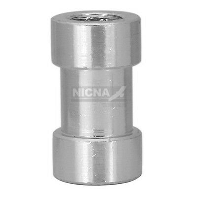 "Female Threaded Screw 1/4""&3/8"" Studio Spigot Adapter"