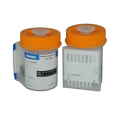 1 x 7 Drug Panel With Integrated Urine Cup All In 1 Test Kit
