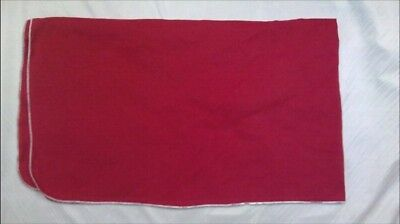 COTTON  RED FENDER COVER  35x59- MADE IN THE USA