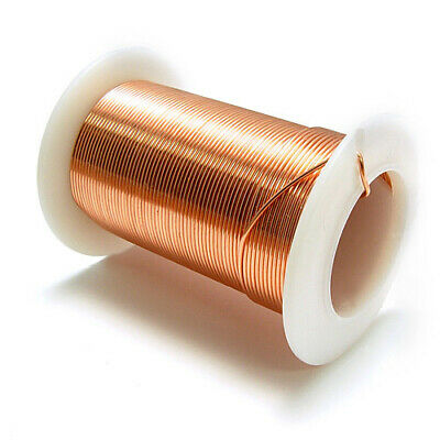 Copper Wire Pure Solid 18 Gauge On 1 Lb Spool For Electroplating & Soldering