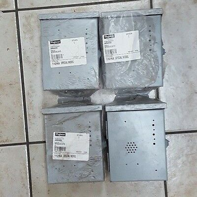 Lot of 4 Hoffman Hinged Cover Type 3R Enclosures A8R64HCR