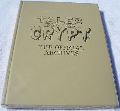 Tales from the Crypt The Official Archives Hardcover Rare Leather HC Ltd to 50