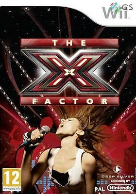 The X-Factor Nintendo Wii * NEW SEALED PAL *
