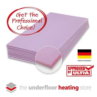 Electric Underfloor Heating Insulation Boards 6mm XPS for underfloor heating