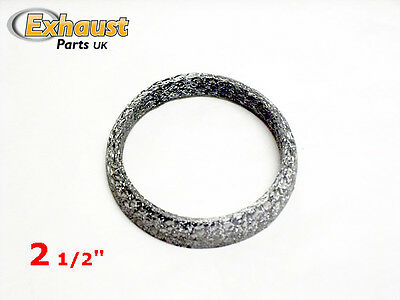 """Exhaust Gasket Conical Joint Sealer Replacement - Mesh Ring 2.5"""" 2 1/2"""" 63mm"""