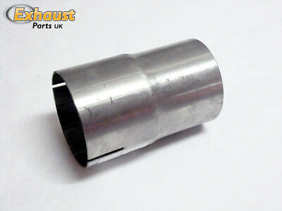 """2"""" stainless male to female Exhaust Pipe Connector Sleeve Joiner 50mm 2"""" Adapter"""