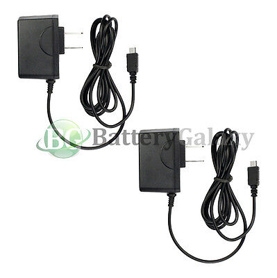 2x Micro USB Battery Travel Home Wall Charger For Android Cell Phone 7,000+SOLD