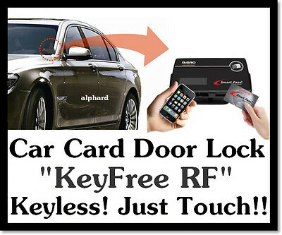Car Keyless Entry System Kit Digital Touch Card Key