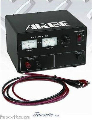 25 Amp, 220V Jewelry Plating Rectifier Gold Rhodium-New