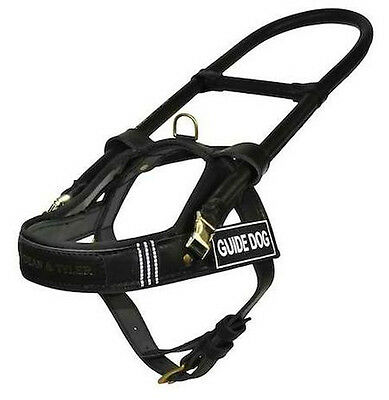 DT Guide & Mobility Dog Harness 100% Full Grain Leather