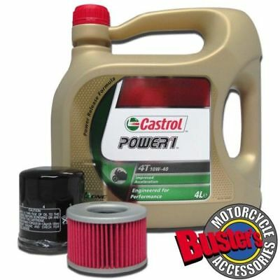 Gsf1200 Bandit 96-06 Castrol Power1 Oil And Filter Kit
