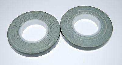 TWO x Green Florist POT tape 9mm x 10m rolls - Flower arranging - tool box must