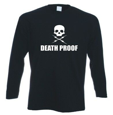 Death Proof Grindhouse Cult Movie Long Sleeved T Shirt