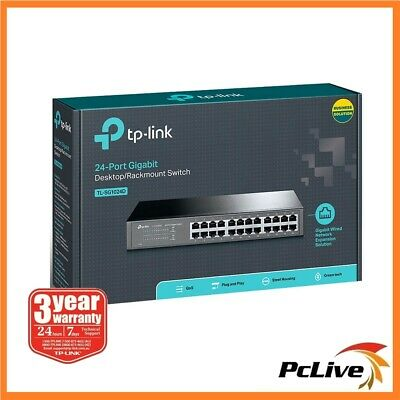 NEW TP-Link TL-SG1024D 24 Port Gigabit Switch Hub 1000Mbps Rackmount