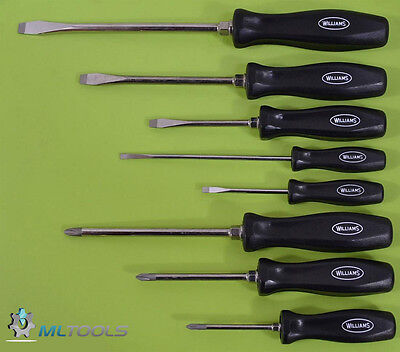 Williams Tools Premium Mixed Screwdriver Set Usa 100P-8Md