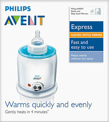 Philips Avent Electric Baby Food & Bottle Warmer  New