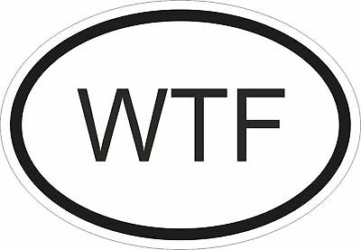 """/""""WTF HAPPENED TO MUSIC?/"""" New 3 Piece BUMPER STICKER//DECAL Sheet funny novelty"""