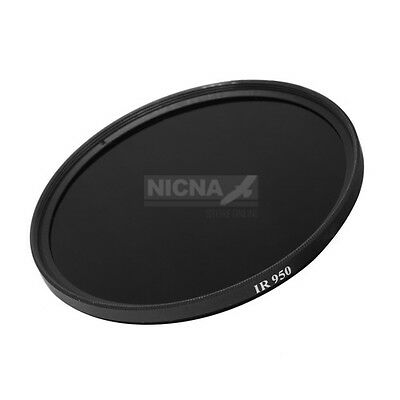 52mm 950nm Infrared Infra-red Pass X-Ray IR Lens Filter Optical Glass 52 mm