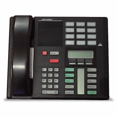 Nortel Norstar Meridian M7310 Display System Phone Blk