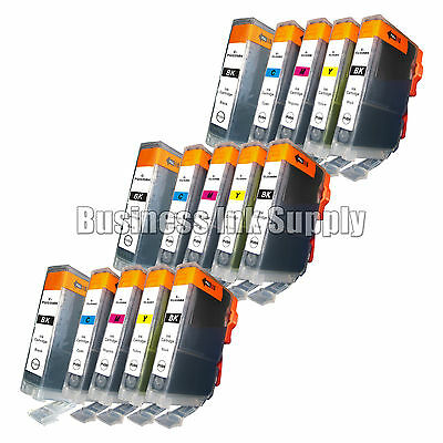15 pk Canon PGI-225 CLI-226 Ink MG6110 MG6120 with Chip