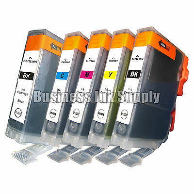 5 pk Canon PGI-225 CLI-226 Ink MG6110 MG6120 with Chip