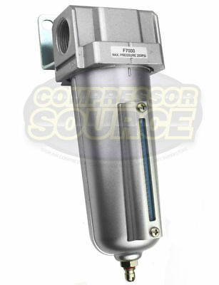 """1/2"""" Compressed Air Line Moisture & Water Filter Trap Air Compressor F704 New"""